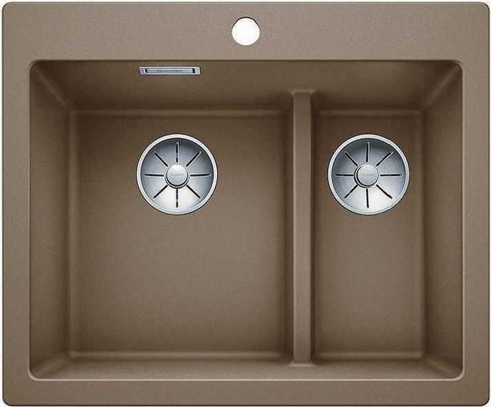 Кухонная мойка Blanco Pleon 6 Split InFino мускат 521697 цена