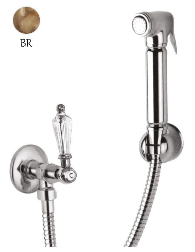 Гигиенический набор бронза, ручка Swarovski Cezares Diamond DIAMOND-KS-02-Sw