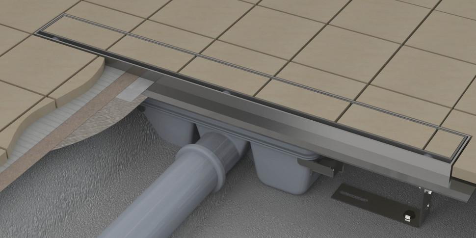 Душевой канал 1050 мм Ravak Floor X01432 душевой набор ravak x07s006