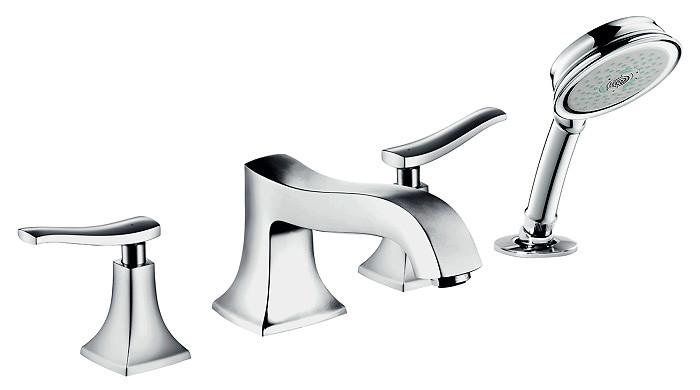 Смеситель на борт ванны Hansgrohe Metris Classic