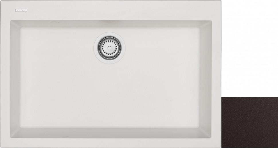 Кухонная мойка марон Longran Cube CUG760.500 - 93