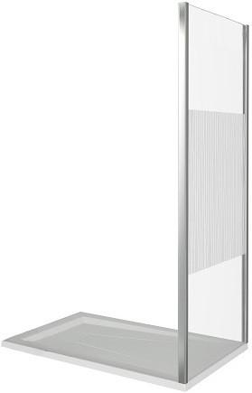 Фото - Боковая стенка 80 см Good Door Pandora SP-80-T-CH прозрачное с рисунком боковая стенка 80 см good door orion sp 80 g ch grape
