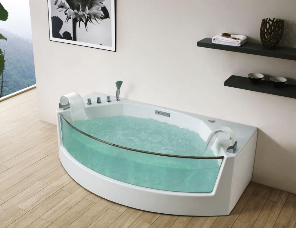 Акриловая гидромассажная ванна 200х105 см Gemy G9079 акриловая ванна gemy g9245
