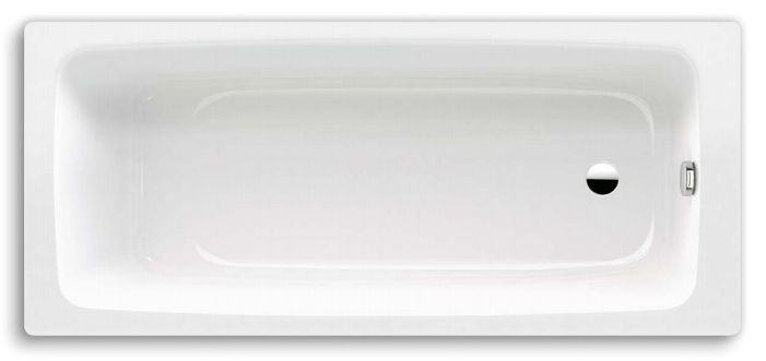 Стальная ванна 160х70 см Kaldewei Cayono 748 с покрытием Easy-Clean стальная ванна kaldewei cayono 747 easy clean 150x70 см с ножками