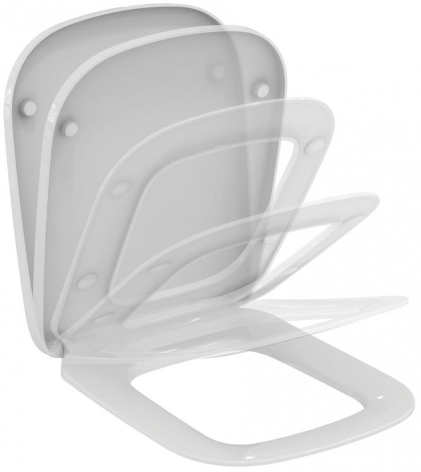 Сиденье для унитаза с микролифтом Ideal Standard Esedra T318301