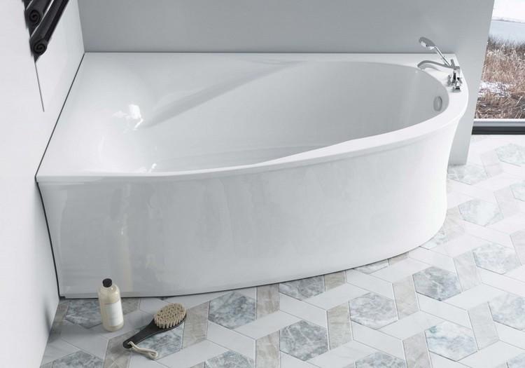 Ванна из литого мрамора 170х100 см Astra-Form Селена 010120