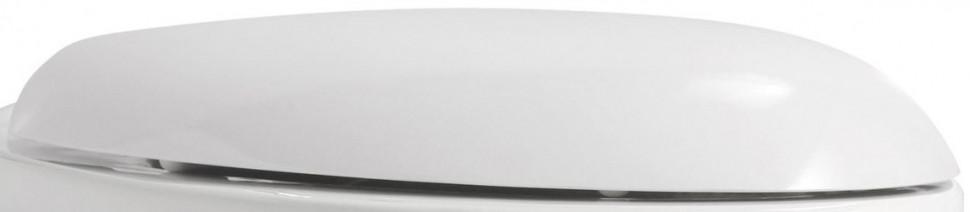 Сиденье для унитаза с микролифтом Azzurra Clas mini CLA1850/Fbi/cr раковина azzurra clas cla 200 65 bi 1