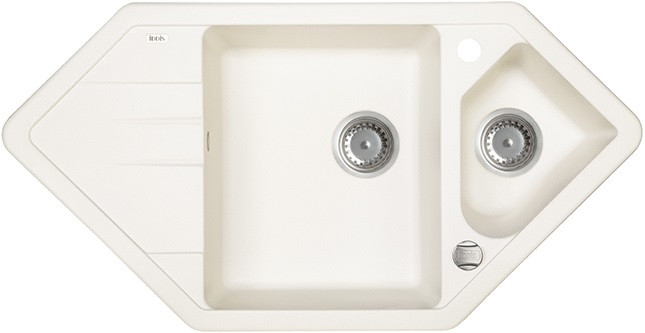 Кухонная мойка белый IDDIS Vane G V30W965I87 кухонная мойка iddis vane g v10w621i87 белая