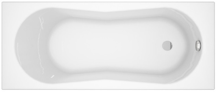 цена на Акриловая ванна 170х70 см Cersanit Nike WP-NIKE*170