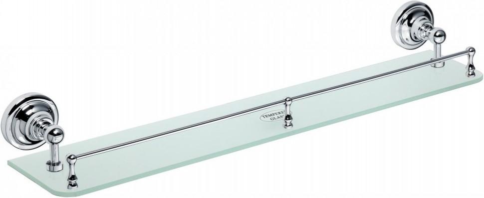 Фото - Полка стеклянная 60 см Bemeta Retro 144302262 полка стеклянная 60 см bemeta retro 144102247