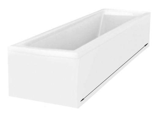 Фронтальная панель 175х57 см Riho P175N0500000000 фронтальная панель для ванны riho p18000500000000