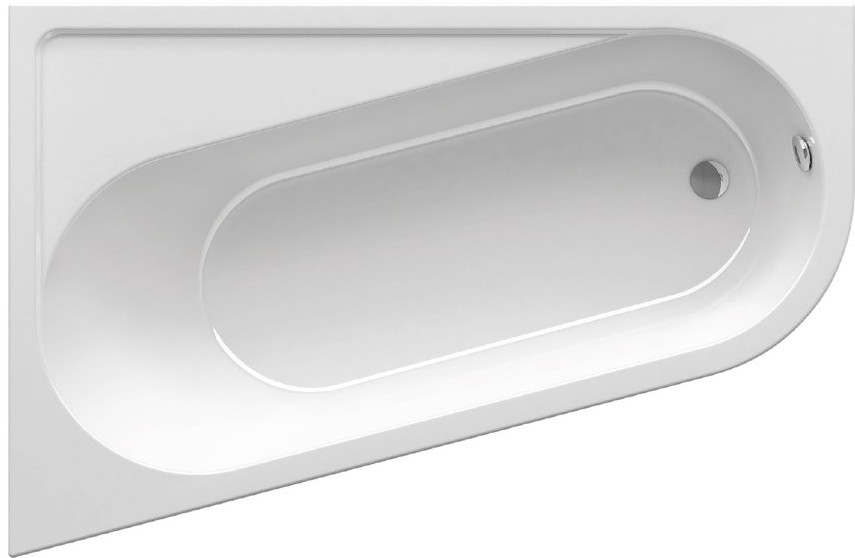 Акриловая ванна 160х105 см Ravak Chrome CA51000000 ravak гидромассажная ваннаravak chrome 160 см