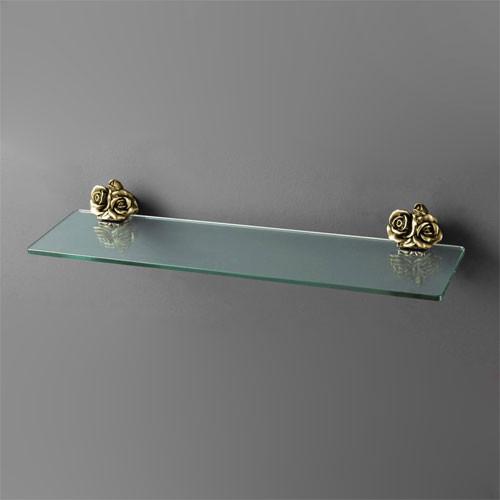 Полка стеклянная 60 см бронза Art&Max Rose AM-0913-B стоимость