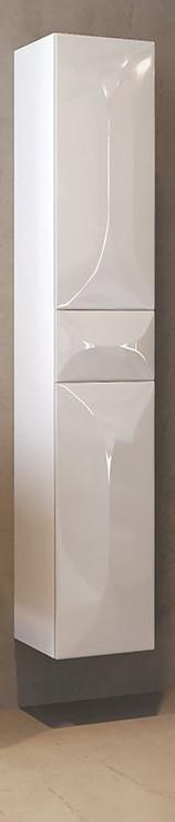 Пенал подвесной белый глянец L Marka One Elegant У73552