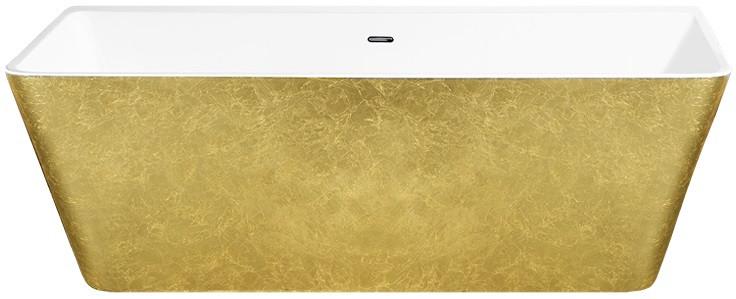 Акриловая ванна 168х80 см Lagard Vela Treasure Gold lgd-vla-tg