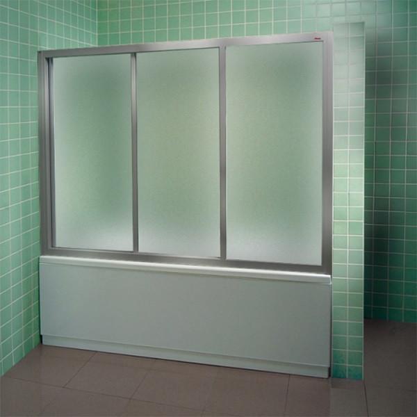 Шторка для ванны Ravak AVDP3 - 170 сатин Grape 40VV0U02ZG шторка для ванны ravak avdp3 120 белый профиль матовое стекло