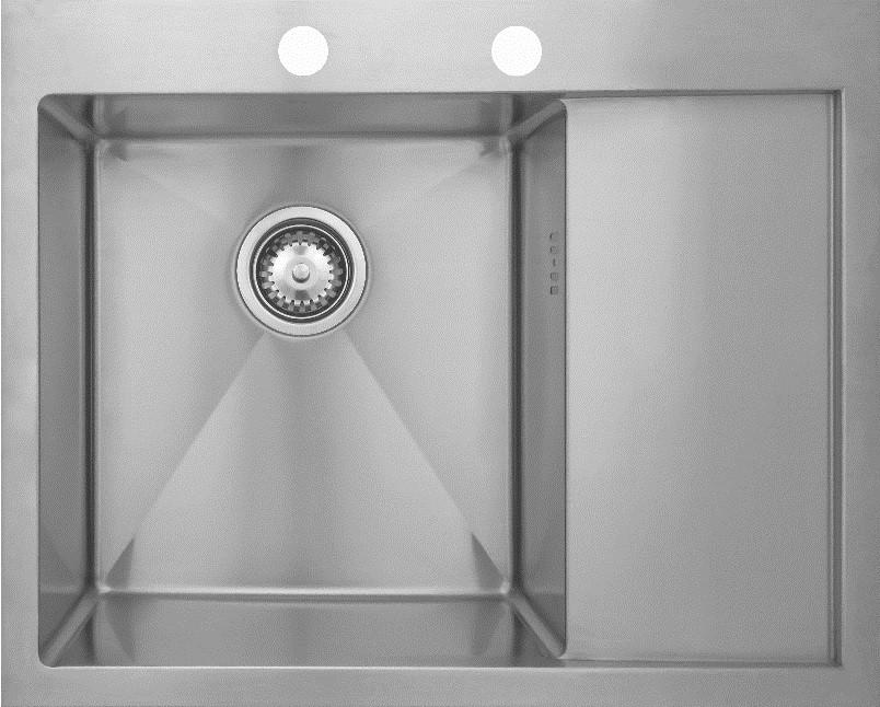 Кухонная мойка Seaman Eco Marino SMB-6351RS.B кухонная мойка seaman eco marino smb 4550s b