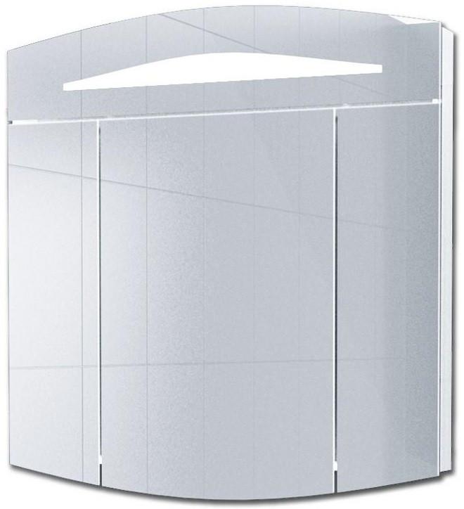 Зеркальный шкаф 80х80 см с подсветкой белый Alvaro Banos Alma 8405.2000 зеркальный шкаф bellezza лагуна 105 с подсветкой бежевый белый
