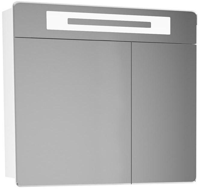 Зеркальный шкаф 80х80 см белый Alvaro Banos Valencia 8407.4000