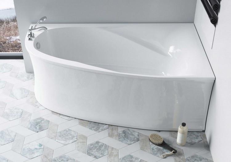 Ванна из литого мрамора 170х100 см Astra-Form Селена 010121