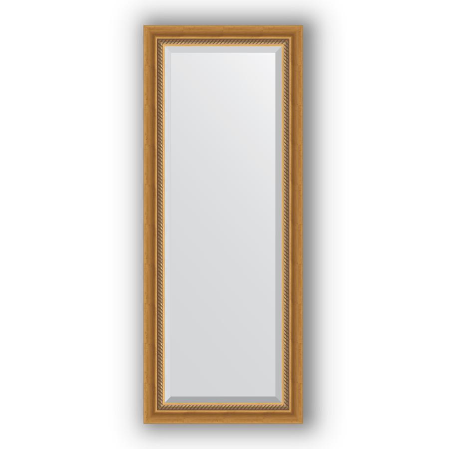 Зеркало 53х133 см состаренное золото с плетением Evoform Exclusive BY 3509