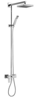 Душевая система 200 мм E.C.A Caro 102154006EX цена 2017