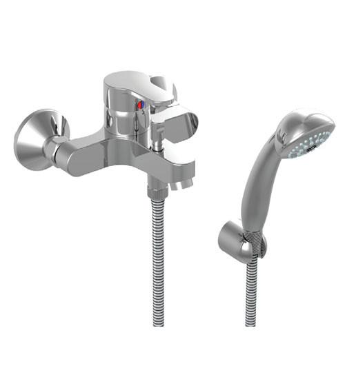 Смеситель для ванны с душем Vidima Сева Фреш BA030AA цена 2017