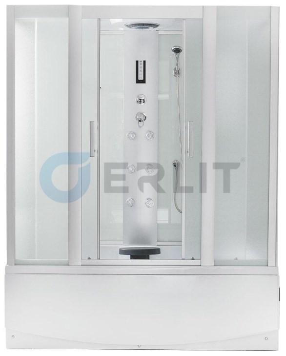 Душевая кабина 170×80×215 см Erlit Comfort ER4517TP-C3 цена