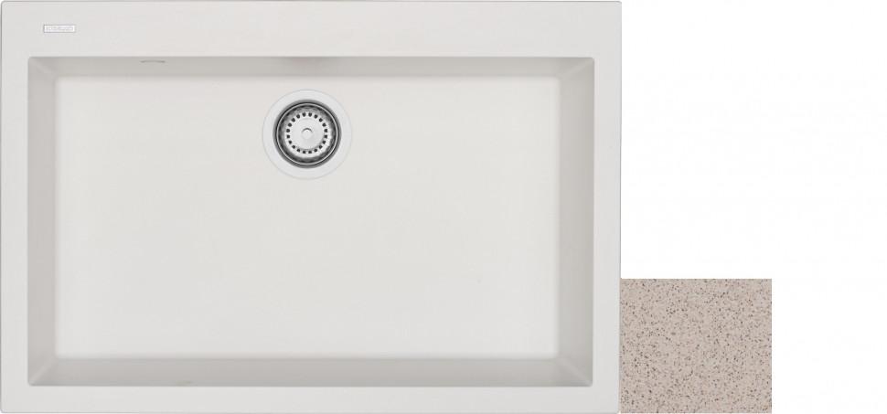Кухонная мойка терра Longran Cube CUG760.500 - 38 фото