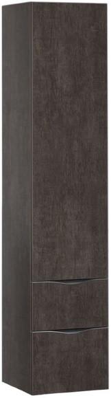Пенал подвесной дуб антик Aquanet Эвора 00182999 встраиваемый холодильник bosch kir41af20r
