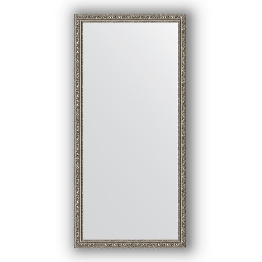 Фото - Зеркало 74х154 см виньетка состаренное серебро Evoform Definite BY 3328 зеркало 64х114 см виньетка состаренное серебро evoform definite by 3200