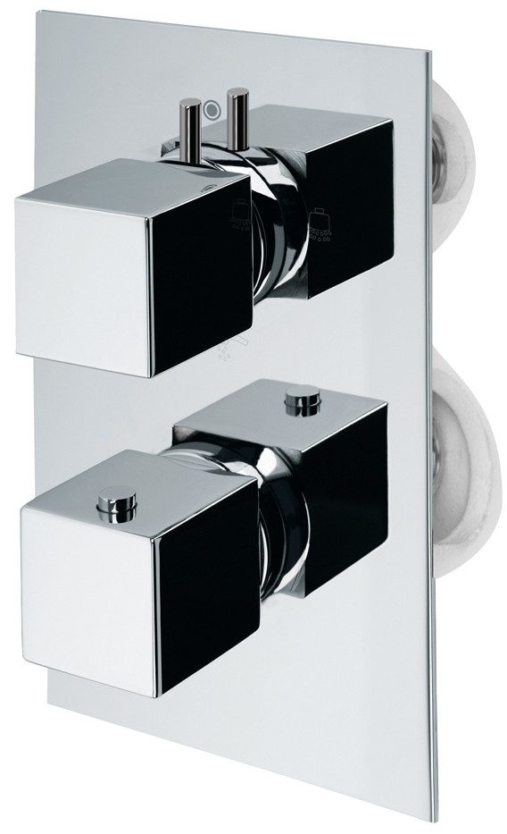 Термостат для ванны Bossini Cube Z004207.030 цена 2017