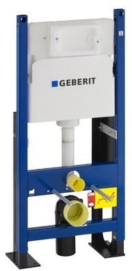 Монтажный элемент для подвесного унитаза, H112, клавиш Delta, 12 см (UP100) Geberit Duofix 457.570.00.1