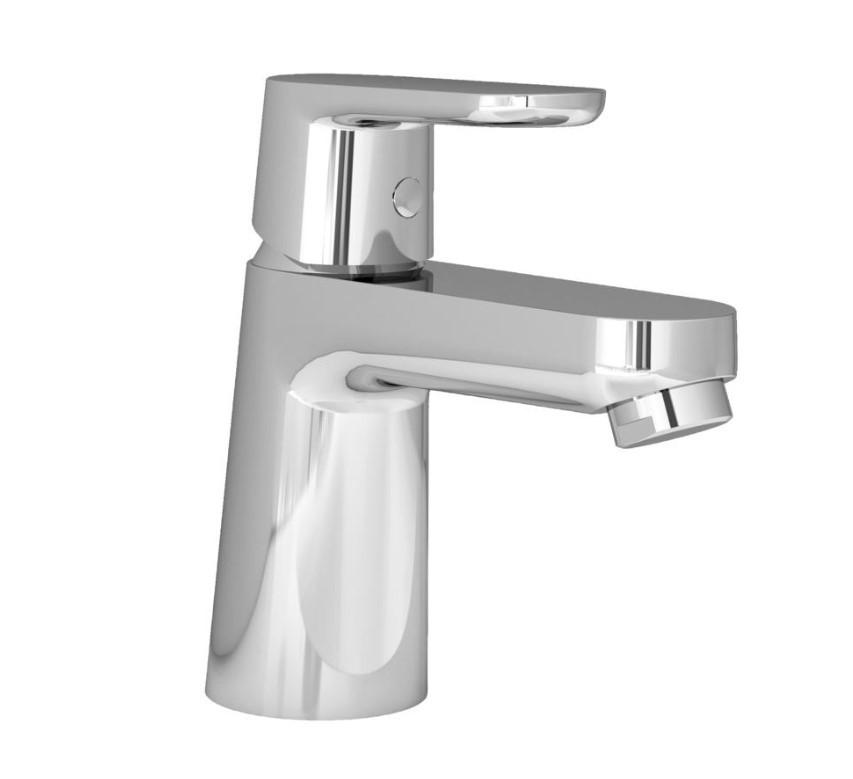 Смеситель для раковины с донным клапаном, с ограничением потока воды Ideal Standard Vito B0406AA смеситель для раковины ideal standard smart b0459aa