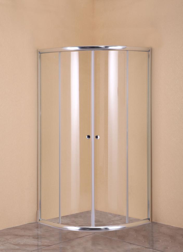 Душевой уголок 80х80 см Agger A01-080TCR/G прозрачное недорого