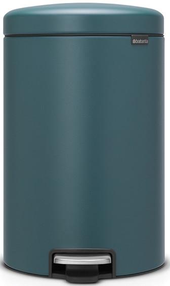 Мусорное ведро 20л с эффектом минерального напыления Brabantia NewIcon 115929 мусорный бак brabantia newicon 115929 20л