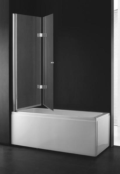 Шторка для ванны Cezares Verona 120 см прозрачное стекло VERONA-W-V-21-120-C-Cr