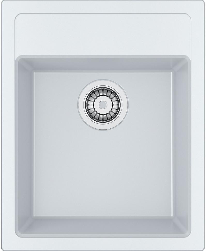 Кухонная мойка Tectonite Franke Sirius SID 610-40 полярный белый 114.0489.179 franke srg 610 белый