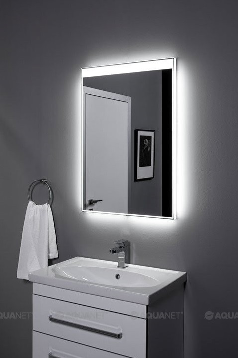 Зеркало с подсветкой 60х85 см Aquanet Палермо 00196641