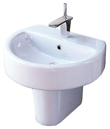 Раковина 55 см Sanita Luxe Best SL400201 раковина sanita эталон 55