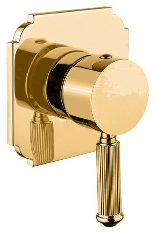Смеситель для душа золото 24 карата Cezares Olimp OLIMP-DIM2-03/24-L смеситель для душа cezares olimp olimp vdim 03 24 l