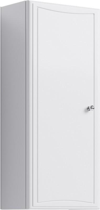 Шкафчик навесной универсальный белый глянец Aqwella Барселона Ba.04.02