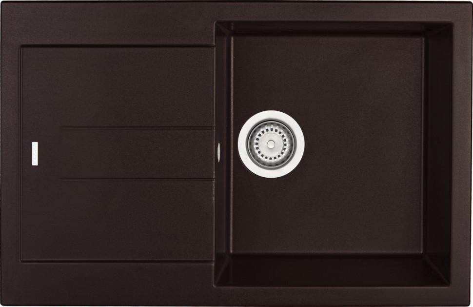 Кухонная мойка марон Longran Amanda AMG780.500 - 93