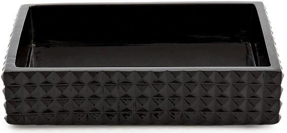 лучшая цена Мыльница Kassatex Parc East Bricks Black ATS-SD-BK