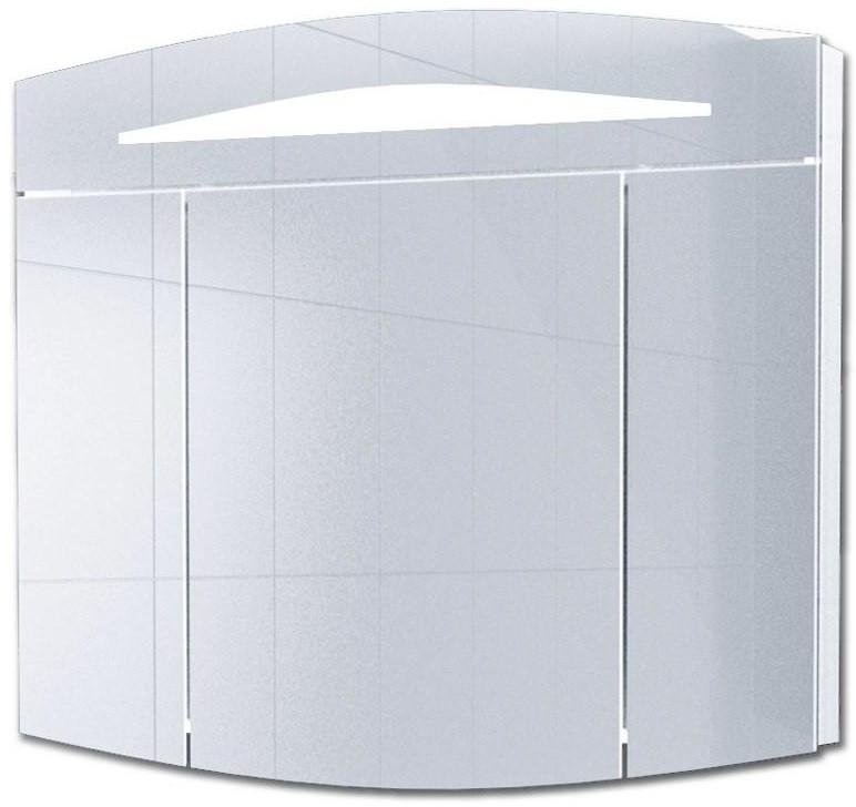 Зеркальный шкаф 100х80 см с подсветкой белый Alvaro Banos Alma 8405.3000