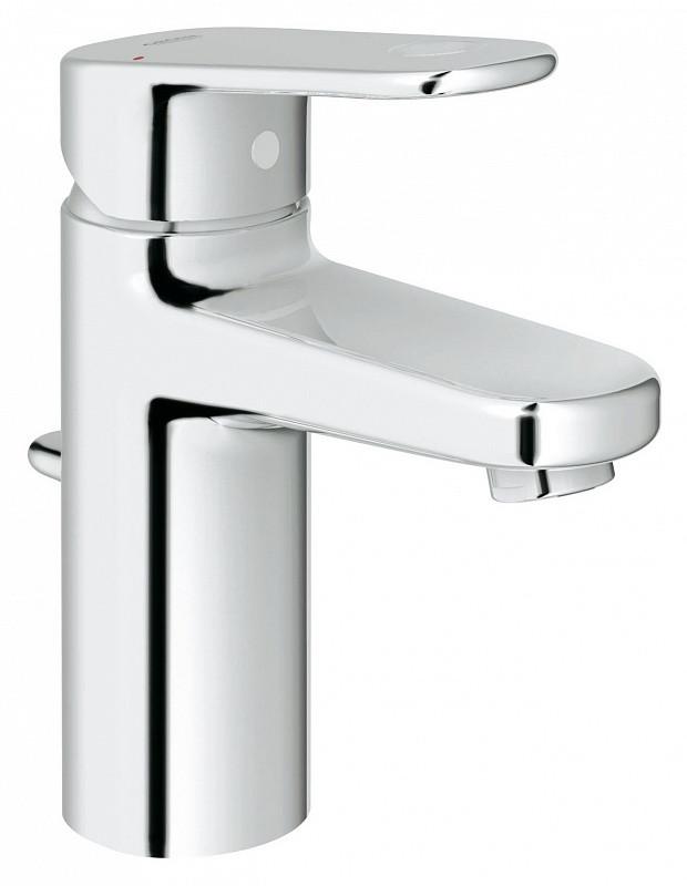 цена на Смеситель однорычажный для раковины S-Size с донным клапаном Grohe Europlus II 32612002