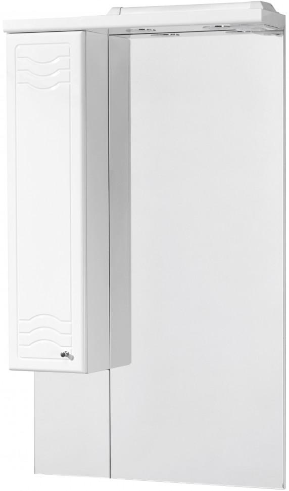 Зеркальный шкаф 65х110,3 см белый глянец L Акватон Домус 1A008202DO01L фото