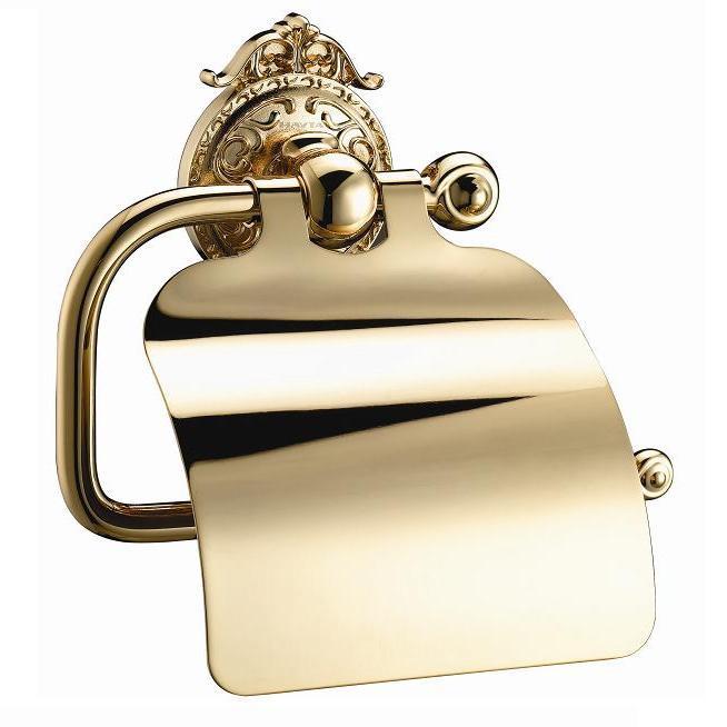 Держатель туалетной бумаги с крышкой Hayta Classic Gold 13903-4/GOLD все цены