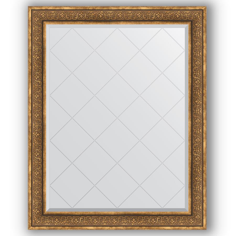 Зеркало 99х124 см вензель бронзовый Evoform Exclusive-G BY 4378