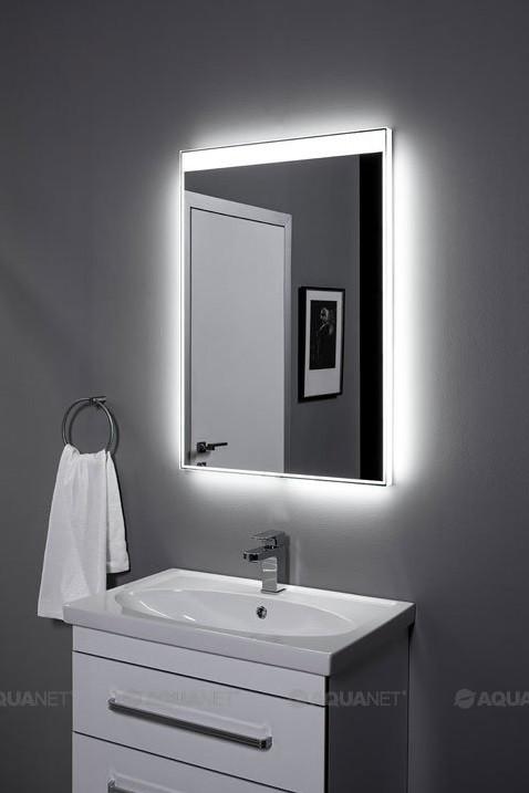 Зеркало с подсветкой 70х85 см Aquanet Палермо 00196642